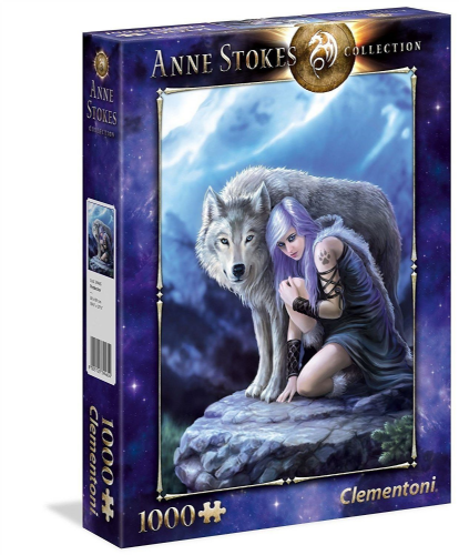 New Teenagers Adults Fantasy Anne Stokes Protector Wolf 1000 Pieces Puzzle